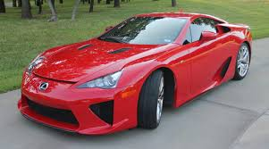 Absolutely Red Lexus LFA Looking for New Owner