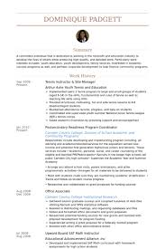 Resume Samples Resume Examples Templates Examples
