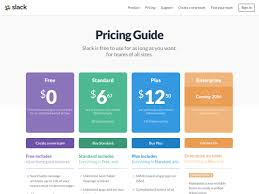 Pricing Page Design Inspiration 22 Pricing Table Inspiration From The Biggest Saas In 2019