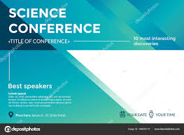 seminar invitation science conference invitation concept advertising of scientific