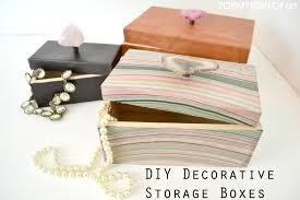 diy decorated storage boxes. How To Make A Decorative Storage Box 60 Diaper Diy Decorated Boxes R