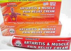 creams for arthritis pain relief