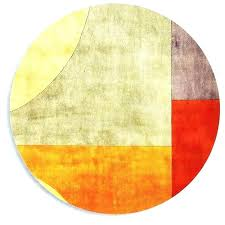 orange and cream rug contemporary round rugs orange and cream rug modern round area rugs round orange and cream rug