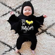 hàng có sẵn] trang phục hóa trang halloween cho bé trai bé gái sơ sinh,  romper áo liền quần + hat trang phục - Sắp xếp theo liên quan sản phẩm