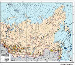 Пищевая промышленность России documentation  Карта Пищевая промышленность азиатской части России