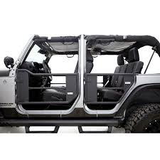 rage trail door front rear kit 4 door jeep wrangler jk 2007 2018
