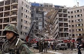 Image result for French barracks Beirut