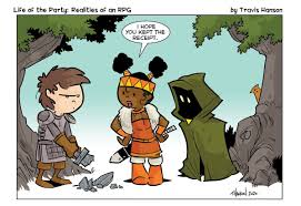"""travis hanson on Twitter: """"Buyers remorse . #comics #webcomics #cartoons  #dnd #d20 #dungeonsanddragonsart #dungeonsanddragons #pathfinder #rpg  #rpgroup… https://t.co/e3UJZK2DjQ"""""""