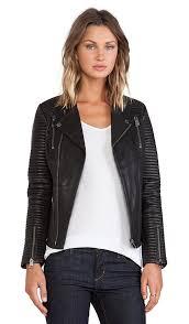 classic leather jacket classic leather jacket anine bing
