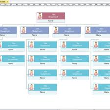 Sample Organizational Chart In Excel Org Chart Templates Org Charting Inside Excel Templates