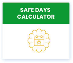 Period Chart To Avoid Pregnancy Safe Days Calculator Avoid Pregnancy Budding Star