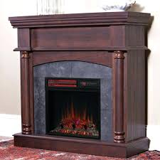 chimneyfree media electric fireplace wall or corner infrared electric fireplace in brown cherry chimneyfree media electric