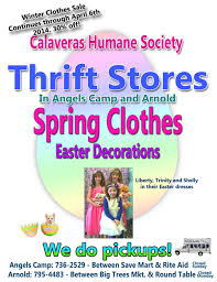 the chs thrift s have everything you need for easter