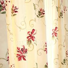 art deco curtains uk and cotton red fl patterned