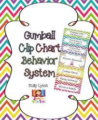 Chevron Gumball Clip Chart Behavior System