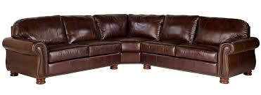 charming thomasville leather sofa in snazzy brown choices benjamin select seat sectional leather for fascinating living