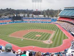 La Dodgers Seating Chart Dodger Stadium Los Angeles Dodgers Ballpark Ballparks Of
