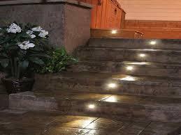 outdoor step lights concrete step lighting ideas outdoor step concrete step lights
