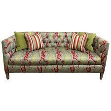 Paisley Sofa viyet designer furniture seating wesley hall paisley tufted sofa 5698 by uwakikaiketsu.us