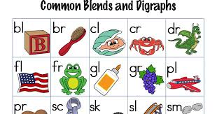 Classroom Freebies Too Common Consonant Blends And Digraphs