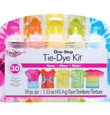 Tulip Fabric Dye Color Chart Tulip One Step 5 Color Tie Dye Kits Neon
