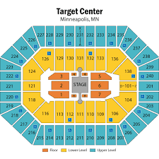 Target Center Seating Chart Target Center Minneapolis Minneapolis Tickets Schedule