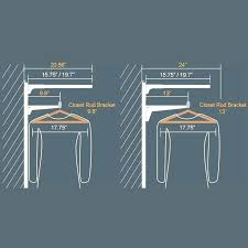 closet rod height code shelf for shirts standard image result hanging heights mounting double closet rod height code standard