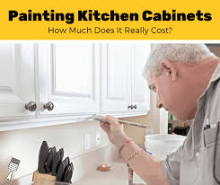 cost to paint kitchen cabinets