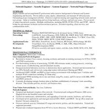 Network Security Engineer Resume Example Sample For Fresher Doc Good ...