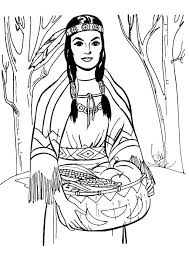 Native American Coloring Pages Free Printable Native Coloring Pages