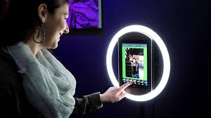 Ring Light Rental Ipad Photo Booth With Promoter 212 Wedding Planner