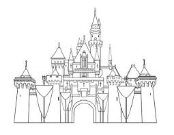 Small Picture Disney Castle coloring page Free Printable Coloring Pages
