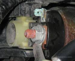 starter motor starting system corroded starter terminal corroded starter solenoid control terminal