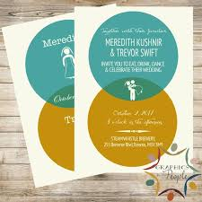 Infographic Venn Diagram Venn Diagram Infographic Wedding Invitation