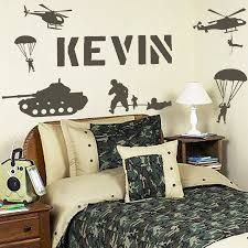 Military Bedroom Decor Army Decorations Ideas Room Furniture Ideas