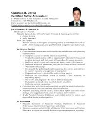 Sample Resume In The Philippines Applicant Resume Sample Format