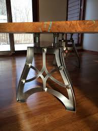 industrial furniture legs. Stunning Industrial Table Legs Design With Window Furniture B