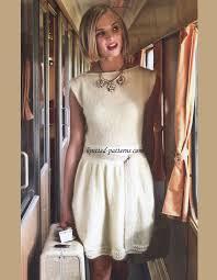 Knit Dress Pattern Enchanting Knit Dress Free Knitting Pattern