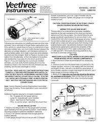 External Shunt Type Ammeter Veethree Instruments