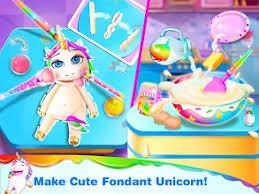 Unicorn Frost Cakes Shop Sweet Cake Bakery праграмы ў Google Play