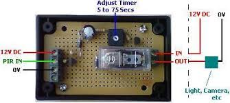 buy pir relay timer reuk co uk pir relay timer circuit suggested connections