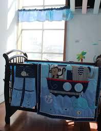 whale crib bedding set baby boy