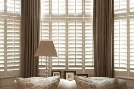 window shutters with curtains. Perfect Curtains Brilliant Shutters For Bay Windows A  And Window Shutters With Curtains I