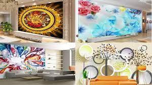 Latest 3D Wallpaper For bedroom living ...