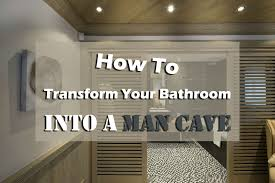 man cave bathroom. Unique Bathroom Bathroom Man Cave Transformation Intended N