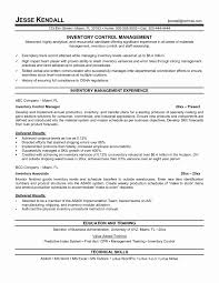 Sample Resume For Inventory Manager Sample Resume For Inventory Manager Fresh Inventory Management 15