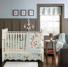 baby nursery  cool boy baby crib sets decor with cute wall decal