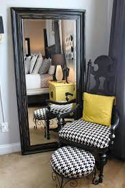 decorating with large wall mirror