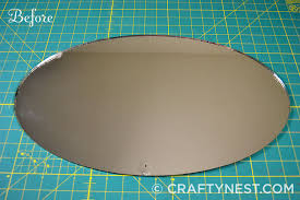 oval mirror frame. Oval Mirror Frame O