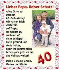 Für Papa Zum 40 Geburtstag Aquamaxforum